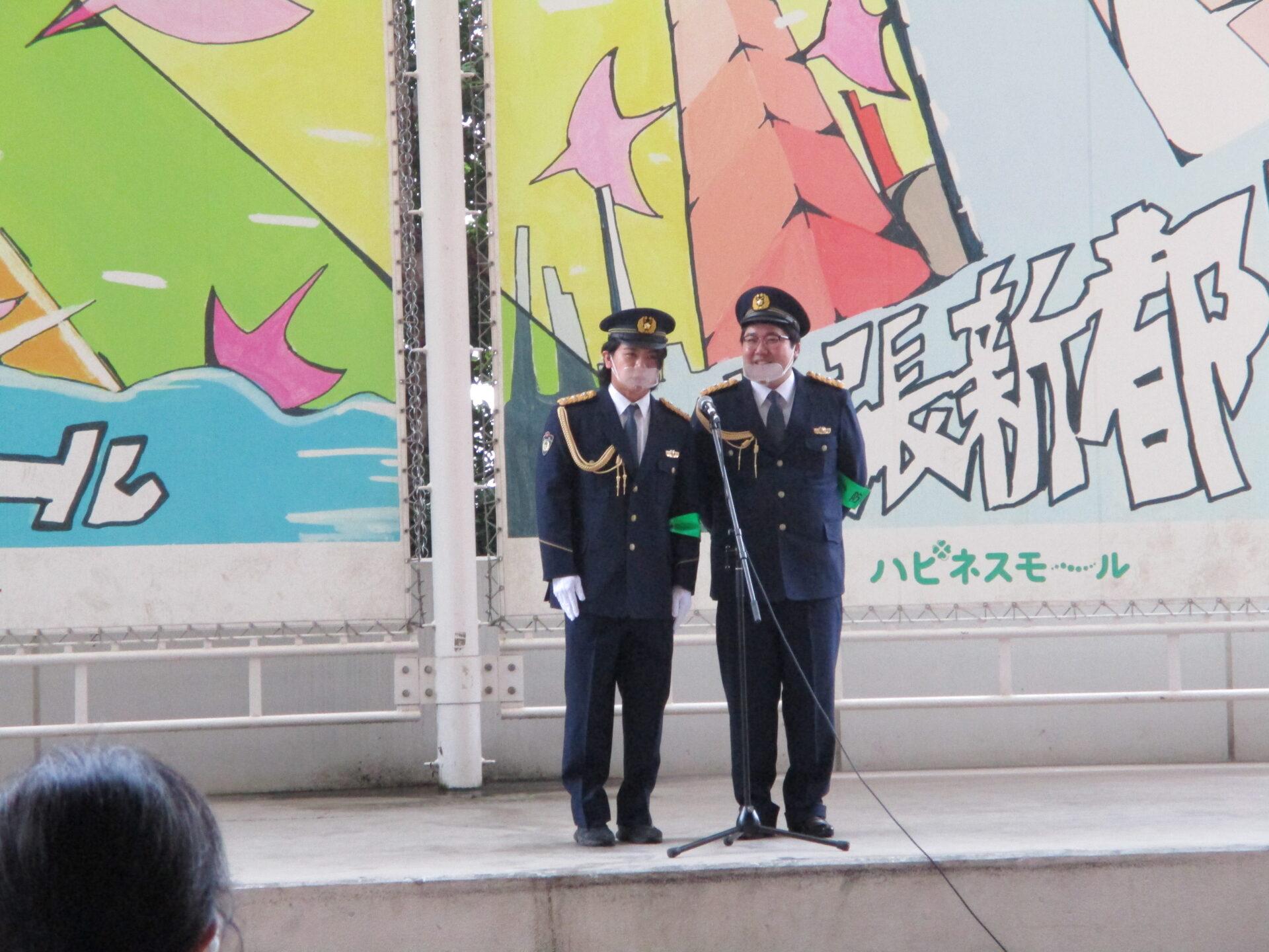 千葉西警察署管内 「年末年始特別警戒の出動式」へ参加しました!